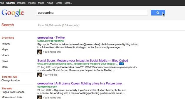 SMO Google Yourself